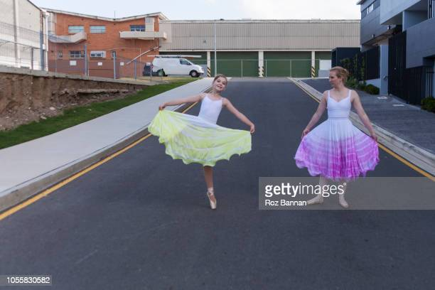 dancing in the street - model roz stock pictures, royalty-free photos & images