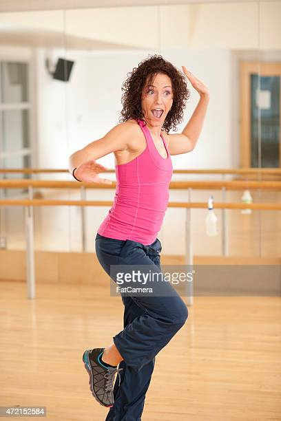 Dancing in Workout Class