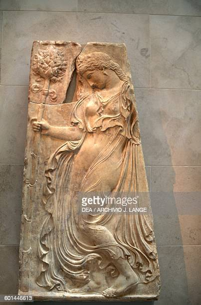 Dancing maenad Roman copy of the Augustan period after a Greek original of ca 425400 bC attributed to Kallimachos Greek and Roman civilisation New...