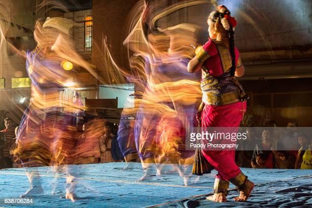 Dancing, Mylapore temple, Chennai
