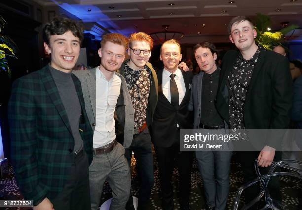 Dancing On Tables and Simon Pegg attend the Newport Beach Film Festival UK Honours in association with Visit Newport Beach at The Rosewood Hotel on...