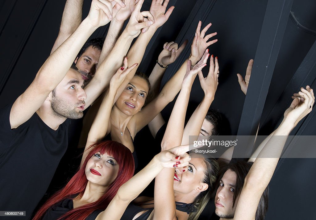 dancing party : Stock Photo