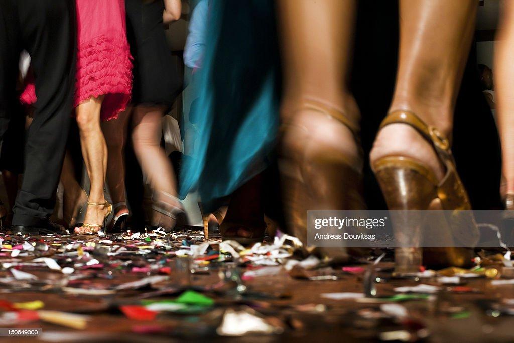 Dancing people : Stock Photo
