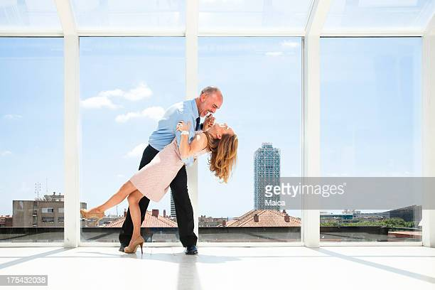 dancing - penthouse models stock photos and pictures