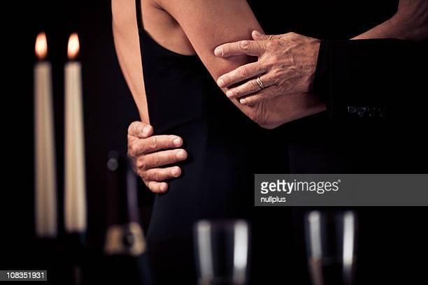 Tanzen senior Paar