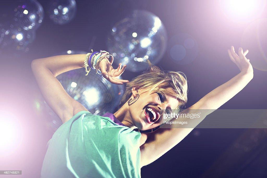 Dancing the night away : Stock Photo