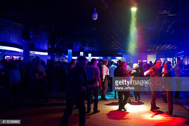 Dancing to Don Letts DJ set at Butlins on October 7 2016 in Bognor Regis England