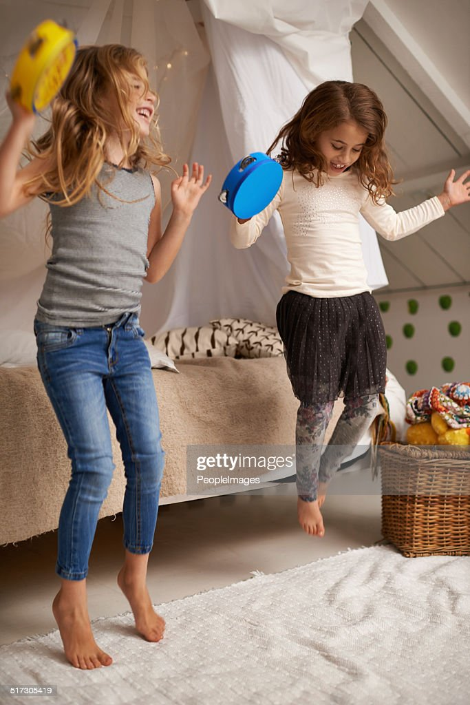 Dancing to their own tune : Stock Photo