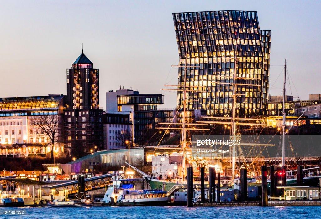 Dancing Towers Hamburg : Stock Photo