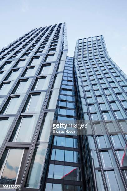 Dancing Towers, office towers on the Reeperbahn, architect Hadi Teherani, Hamburg, Germany