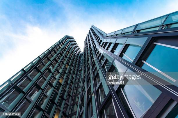 dancing towers, st. pauli, hamburg, germany - reeperbahn stock pictures, royalty-free photos & images
