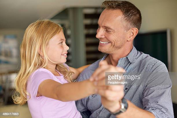 Dancing with my darling daughter