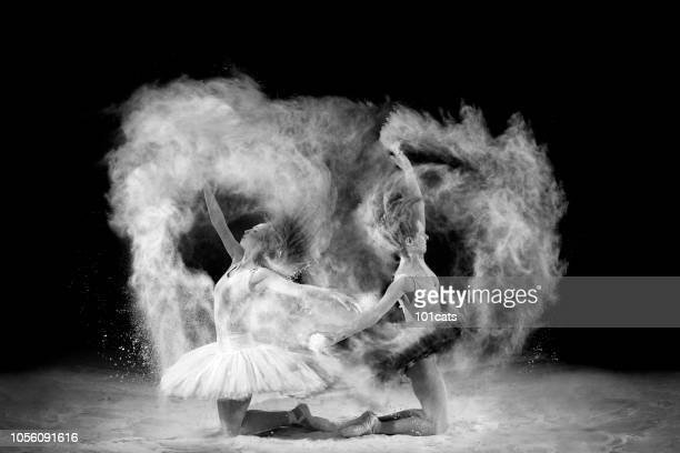 dancing with powder