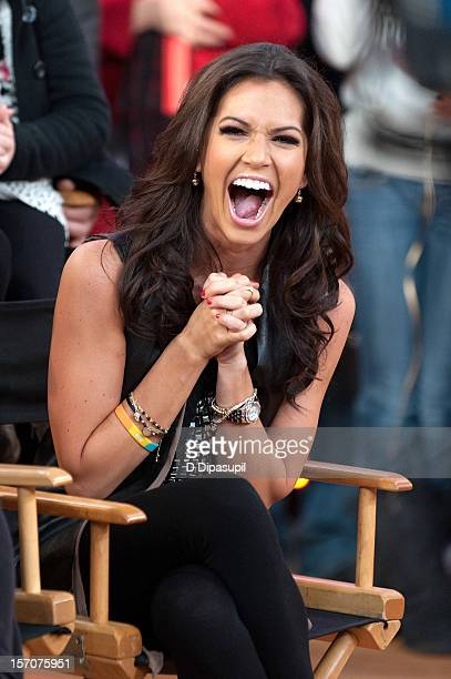 'Dancing With The Stars All Stars' winner Melissa Rycroft attends ABC's Good Morning America at ABC News' Good Morning America Times Square Studio on...