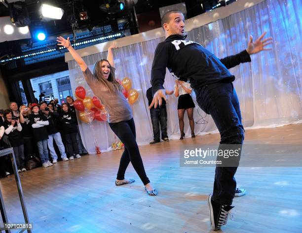 Dancing with the Stars contestant Bristol Palin and dancer Mark Ballas contestants from Season 11 of the Dancing with the Stars competition dance...