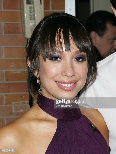 'Dancing With The Stars' contestant Cheryl Burke visits ABC's Good Morning America at ABC Studios on May 20 2009 in New York City
