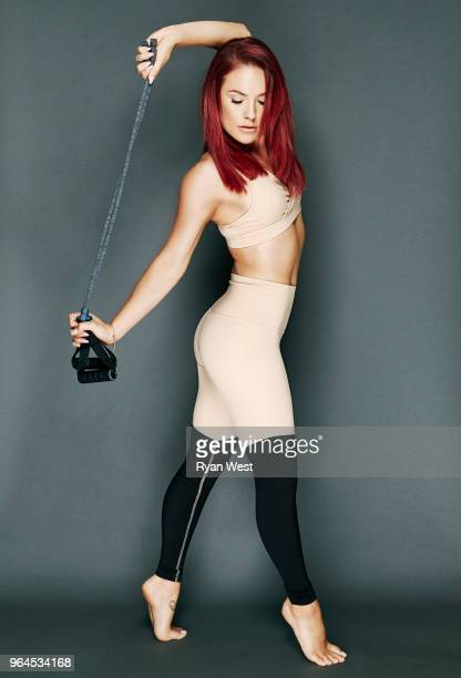 Dancing with the Stars dancer, Sharna Burgess is photographed in July 2016 in Los Angeles, California.