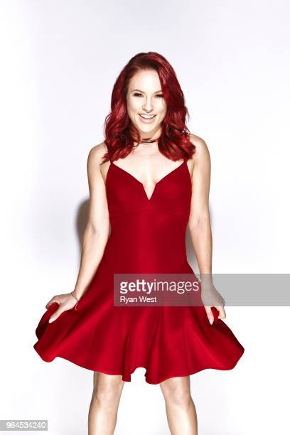 Dancing with the Stars dancer Sharna Burgess is photographed in July 2016 in Los Angeles California