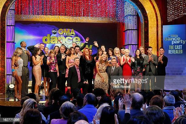 AMERICA Dancing with the Stars hosts Tom Bergeron and Brooke BurkeCharvet announced this season's celebrity and professional pairings live on Good...
