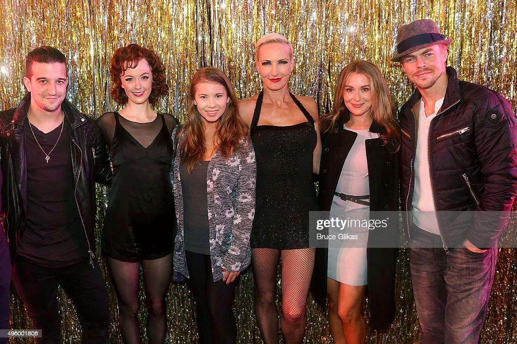Celebrities Visit Broadway - November 5, 2015 : News Photo