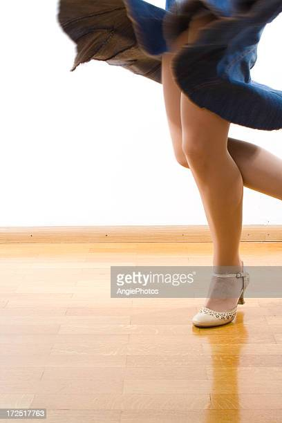dancing woman - ballroom stock pictures, royalty-free photos & images
