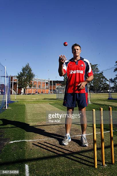 Dandenong district cricket fast bowler Darren Pattinson who has been selected to play for Victoria against Queensland in the upcoming oneday match...