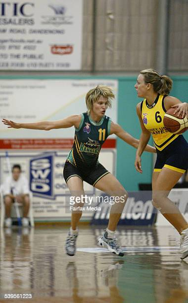 Dandenongs defense proved to be strong for Sydney especially with Bibby on their sideGrand Final at the Dandenong Basketball Stadium Dandenong Jayco...