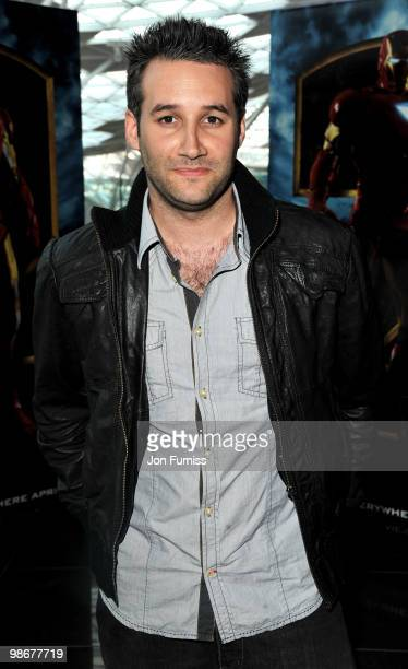 Dane Bowers attends the VIP screening of 'Iron Man 2' at Vue Westfield on April 26, 2010 in London, England. .