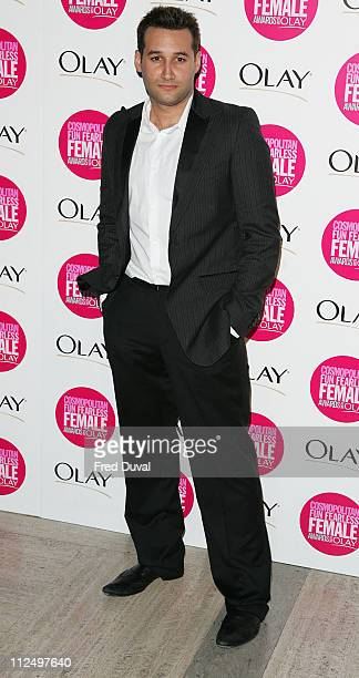 Dane Bowers during Cosmopolitan Fun Fearless Female Awards with Olay Red Carpet at Bloomsbury Ballroom in London Great Britain