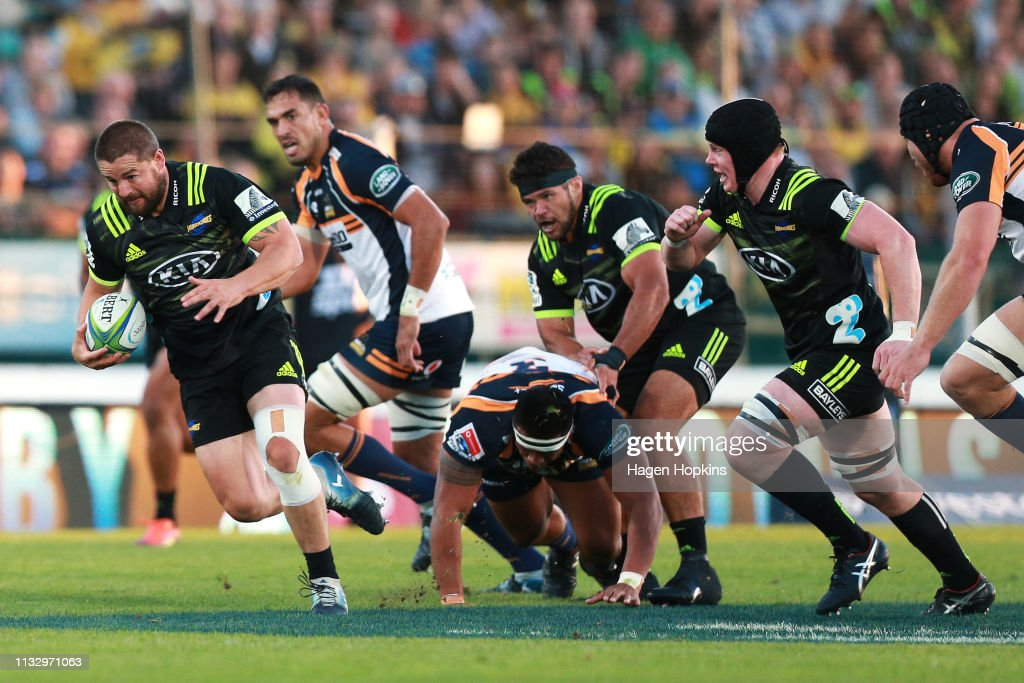 Super Rugby Rd 3 - Hurricanes v Brumbies : News Photo