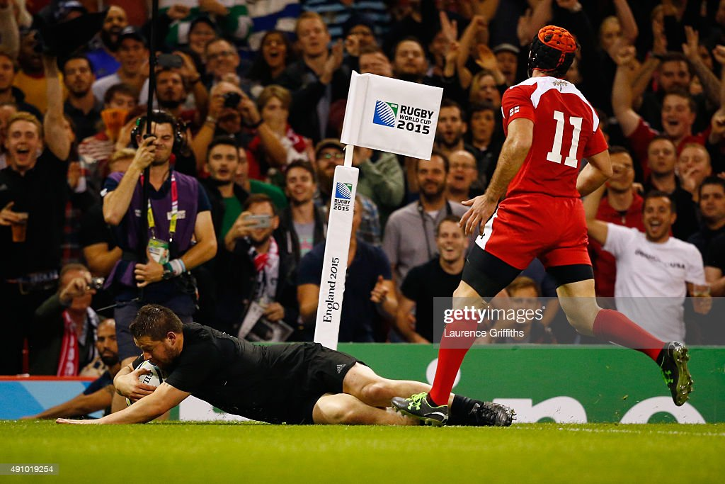 New Zealand v Georgia - Group C: Rugby World Cup 2015