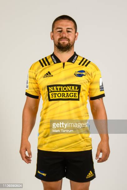Dane Coles poses during a Hurricanes Super Rugby headshots session on February 01 2019 in Wellington New Zealand