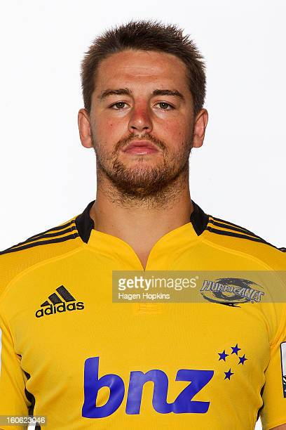 Dane Coles poses during the Hurricanes headshots session on February 4 2013 in Wellington New Zealand