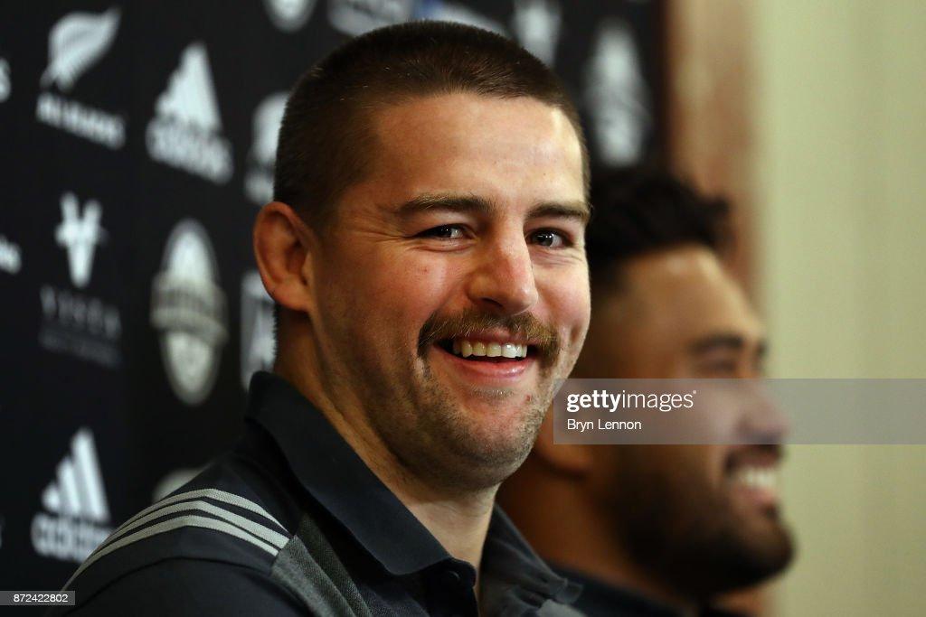 New Zealand All Blacks Media Access : News Photo
