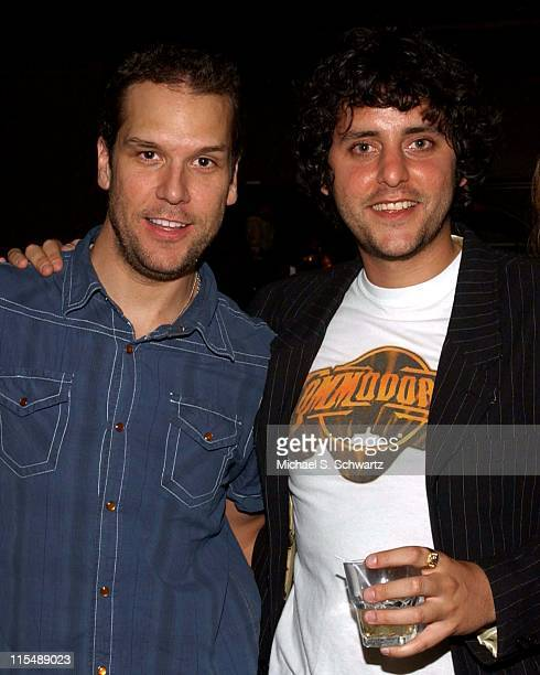 Dane Cook and Ben Gleib during Ben Gleib Birthday Party Sponsored by Collegehumorcom June 21 2007 at Hollywood Improv in Hollywood California United...