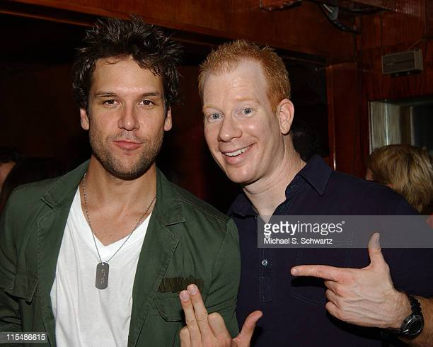 Dane Cook and Darren Carter during Comedian Dane Cook DVDCD Release Party at The Laugh Factory at The Laugh Factory in Hollywood California United...