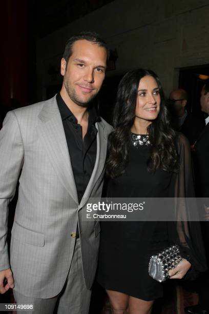 Dane Cook and Demi Moore during MGM Distribution Co Mr Brooks Los Angeles Premiere at Grauman's Chinese Theater in Los Angeles California United...