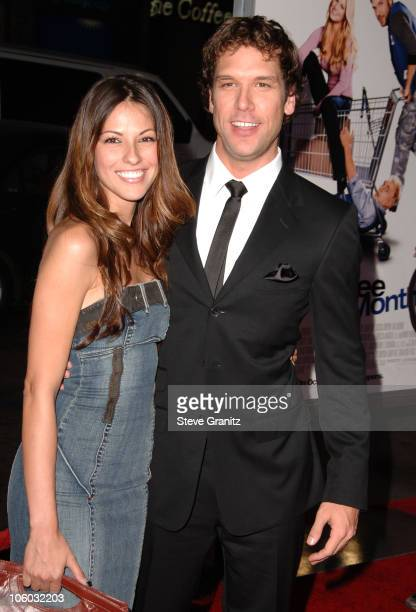 Dane Cook and girlfriend Raquel Houghton during Employee of the Month Premiere Arrivals at Mann's Chinese Theater in Hollywood California United...