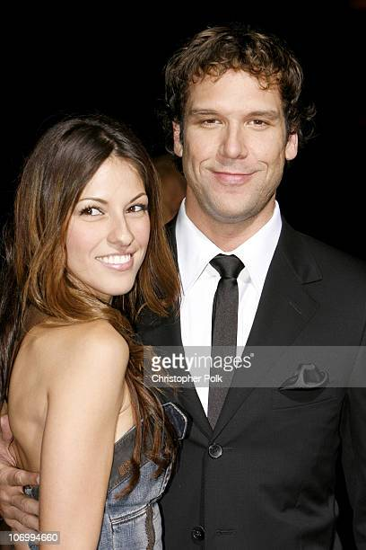 """Dane Cook and girlfriend Raquel Houghton during """"Employee of the Month"""" Premiere - Arrivals at Mann's Chinese Theatre in Hollywood, California,..."""