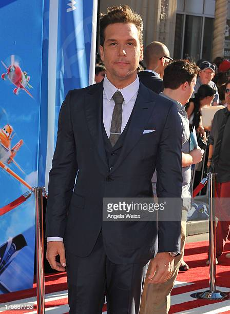 Dane Cook arrives at the premiere of Disney's 'Planes' presented by Target at the El Capitan Theatre on August 5 2013 in Hollywood California