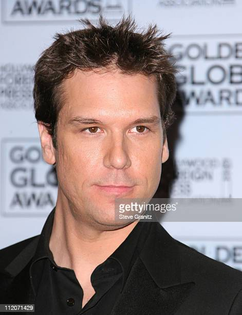Dane Cook during 64th Annual Golden Globe Awards Press Room at Beverly Hilton in Los Angeles California United States