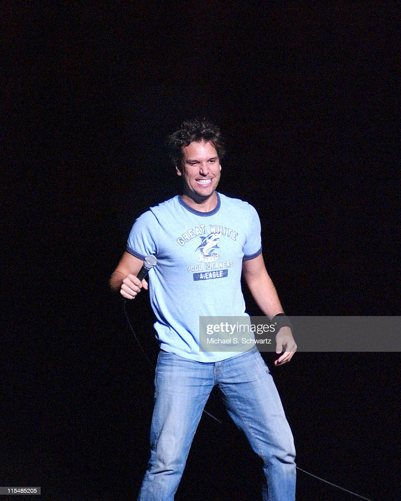 Dave Attel and Dane Cook Perform at The Wiltern Theater in Los Angeles - June 25, 2005 : News Photo