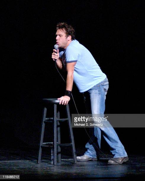 Dane Cook during Dave Attel and Dane Cook Perform at The Wiltern Theater in Los Angeles June 25 2005 at The Wiltern Theater in Los Angeles California...