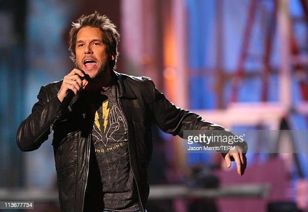 Dane Cook during HBO AEG Live's The Comedy Festival Comic Relief 2006 Show at Caesars Palace in Las Vegas Nevada United States