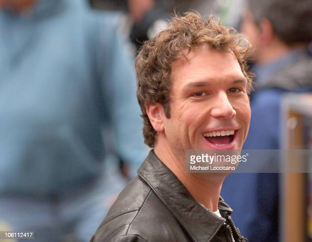 Dane Cook during Janet Jackson Performs on The Today Show September 29 2006 at Rockefeller Center in New York City New York United States