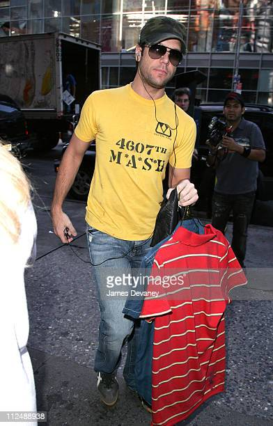 Dane Cook during Jessica Simpson and Dane Cook Sighting In New York City October 4 2006 at Streets of Manhattan in New York City New York United...