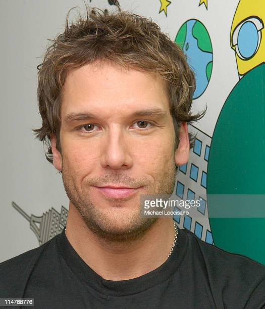 Dane Cook during Jessica Simpson and Dane Cook Visit MTV's 'TRL' October 4 2006 at MTV Studios in New York City New York United States