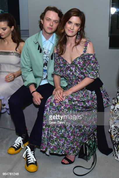 Dane DeHaan and Anna Wood attend the Prada Resort 2019 fashion show on May 4 2018 in New York City