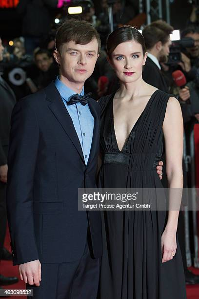 Dane deHaan and his wife Anna Wood attend the 'Life' premiere during the 65th Berlinale International Film Festival at Zoo Palast on February 9 2015...