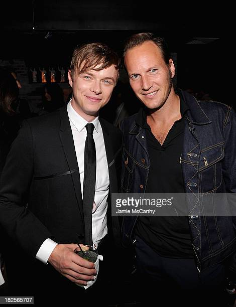 Dane DeHaan and Patrick Wilson attend The Cinema Society and Johnston Murphy screening of Sony Pictures Classics' 'Kill Your Darlings' after party>>...